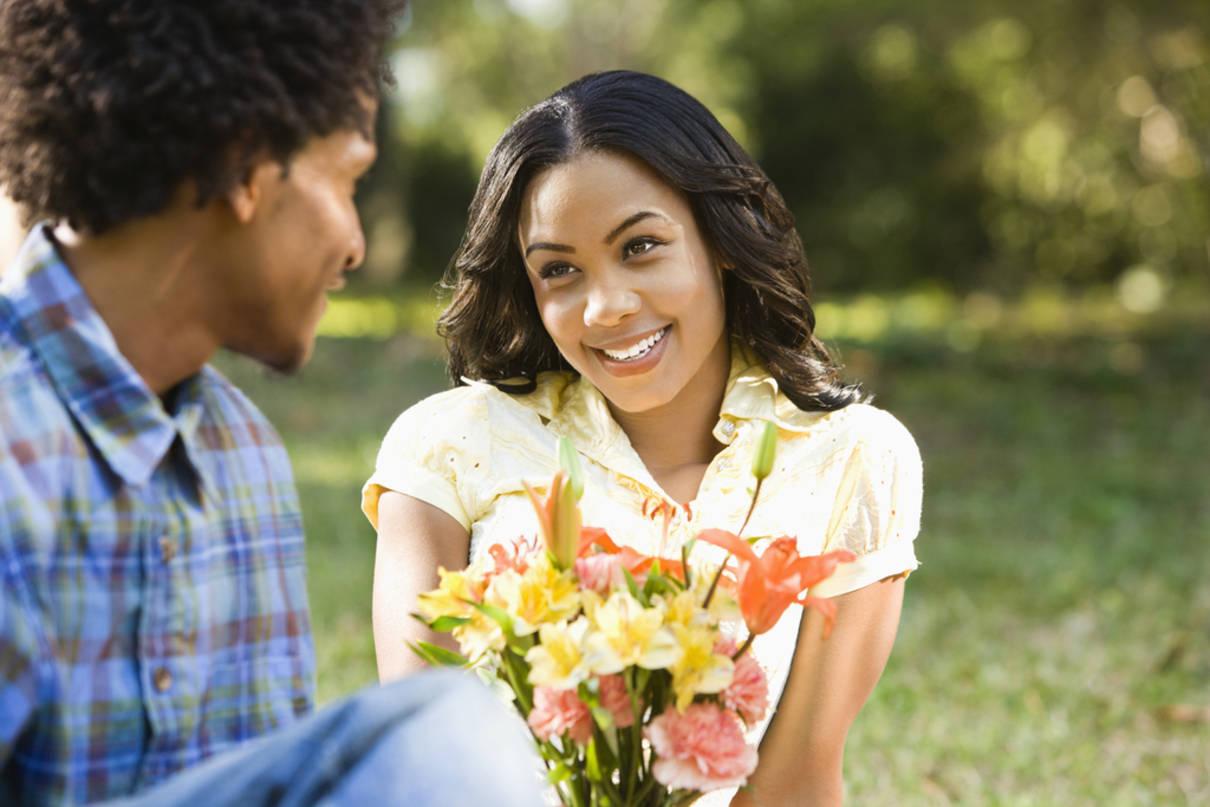conquistar a una mujer con flores
